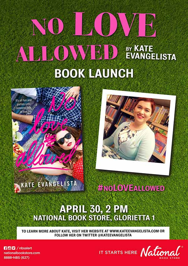 no-love-allowed-book-launch-poster