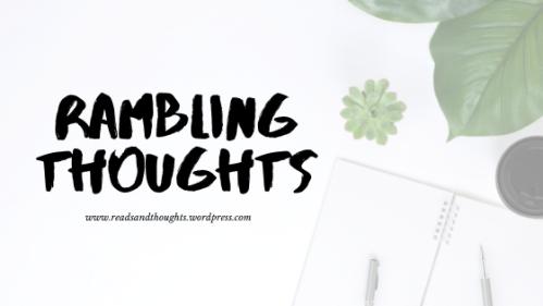 Header - Rambling Thoughs